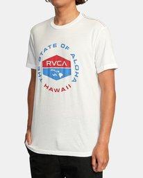 3 HAWAII FOCUSED SS White AVYZT00535 RVCA