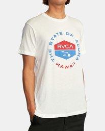 4 HAWAII FOCUSED SS White AVYZT00535 RVCA
