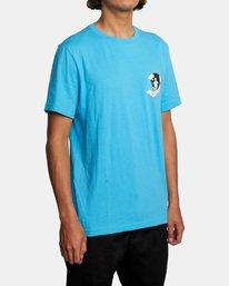 5 Luke P   Skull Shred Short Sleeve Tee Brown AVYZT00540 RVCA