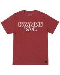 0 Evan Mock | RVCA Punch Short Sleeve Tee Brown AVYZT00543 RVCA