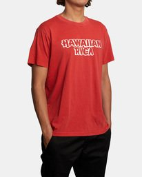 4 Evan Mock | RVCA Punch Short Sleeve Tee Brown AVYZT00543 RVCA