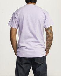 2 DESTROY RACISM TEE Purple AVYZT00547 RVCA