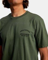 4 Auto Repair Short Sleeve Tee Green AVYZT00550 RVCA