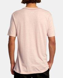 3 Matt Leines | Tiger Short Sleeve Tee Grey AVYZT00556 RVCA