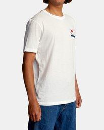 6 Highland Short Sleeve Tee White AVYZT00558 RVCA