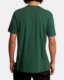 2 Pennant Short Sleeve Tee Green AVYZT00564 RVCA