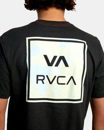 7 VA All The Way Short Sleeve Tee Black AVYZT00566 RVCA