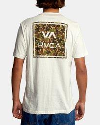 3 VA All The Way Short Sleeve Tee White AVYZT00566 RVCA
