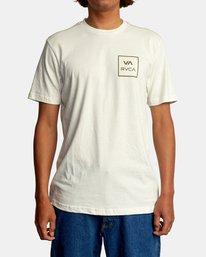 2 VA All The Way Short Sleeve Tee White AVYZT00566 RVCA