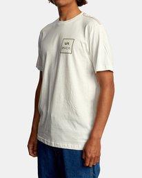 5 VA All The Way Short Sleeve Tee White AVYZT00566 RVCA