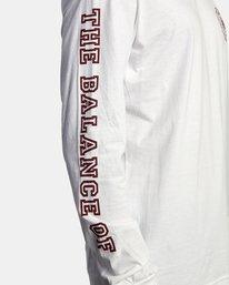 7 Annex Long Sleeve Tee White AVYZT00568 RVCA
