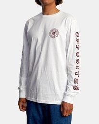 5 Annex Long Sleeve Tee White AVYZT00568 RVCA