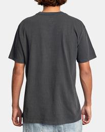 3 Lauderdale Short Sleeve Tee Black AVYZT00581 RVCA