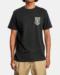 2 Alex Matus | Ranger Short Sleeve Tee Black AVYZT00586 RVCA