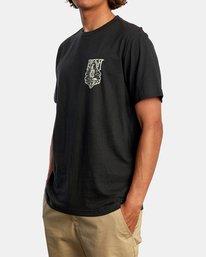 5 Alex Matus | Ranger Short Sleeve Tee Black AVYZT00586 RVCA