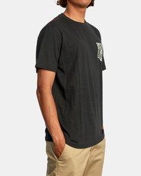 6 Alex Matus | Ranger Short Sleeve Tee Black AVYZT00586 RVCA