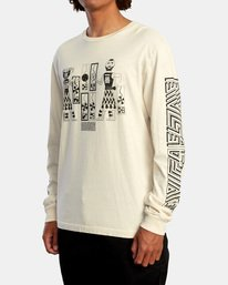4 LEINES TRIBE LS Silver AVYZT00590 RVCA