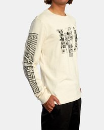 6 LEINES TRIBE LS Silver AVYZT00590 RVCA