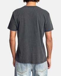 3 Cambridge Short Sleeve Tee Black AVYZT00591 RVCA