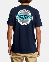 3 HOMEFIELD SS Blue AVYZT00594 RVCA