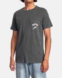 5 Alex Matus   Hawaii Matus Short Sleeve Tee Black AVYZT00603 RVCA