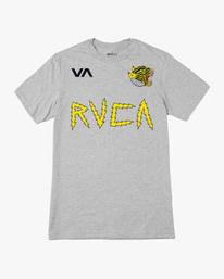 0 Matt Leines | VA Sport Leines Banner Workout Shirt Grey AVYZT00670 RVCA