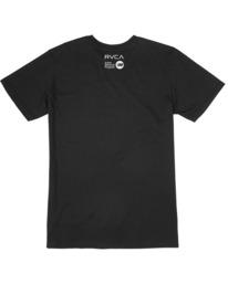 1 Matt Leines | VA Sport Leines Banner Workout Shirt Black AVYZT00670 RVCA