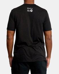 3 Matt Leines | VA Sport Leines Banner Workout Shirt Black AVYZT00670 RVCA