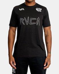 2 Matt Leines | VA Sport Leines Banner Workout Shirt Black AVYZT00670 RVCA