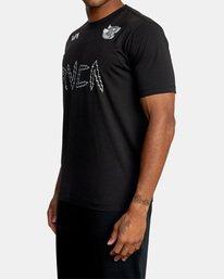 5 Matt Leines | VA Sport Leines Banner Workout Shirt Black AVYZT00670 RVCA