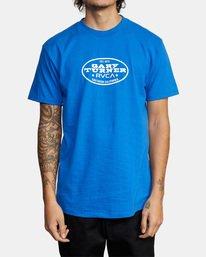 2 Gary Turner T-Shirt Blue AVYZT00692 RVCA