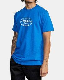 5 Gary Turner T-Shirt Blue AVYZT00692 RVCA