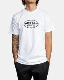 2 Gary Turner T-Shirt White AVYZT00692 RVCA