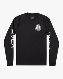 0 Gary Turner Long Sleeve T-Shirt Black AVYZT00693 RVCA