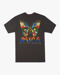 1 Melissa Grisancich   Mel G Butterfly Short Sleeve Tee Black AVYZT00694 RVCA