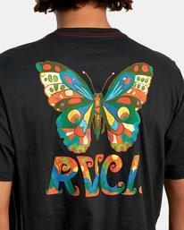 7 Melissa Grisancich   Mel G Butterfly Short Sleeve Tee Black AVYZT00694 RVCA