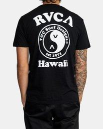 3 RVCA T&C Short Sleeve T-Shirt  AVYZT00698 RVCA