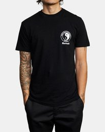 2 RVCA T&C Short Sleeve T-Shirt  AVYZT00698 RVCA