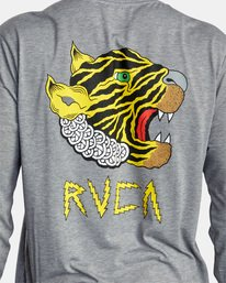 7 LEINES BIG TIGER LS Grey AVYZT00730 RVCA