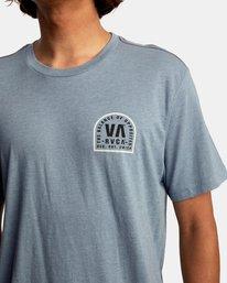 4 Tomb Seal Short Sleeve Tee Grey AVYZT00746 RVCA