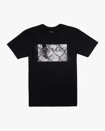 0 Gym Lay Workout Shirt Black AVYZT00834 RVCA