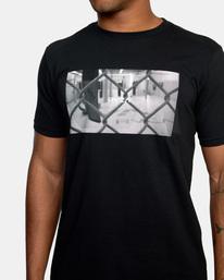 3 Gym Lay Workout Shirt Black AVYZT00834 RVCA