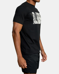 5 Gym Lay Workout Shirt Black AVYZT00834 RVCA