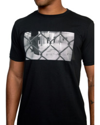 6 Gym Lay Workout Shirt Black AVYZT00834 RVCA