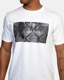 3 Gym Lay Workout Shirt White AVYZT00834 RVCA