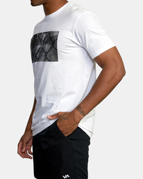 4 Gym Lay Workout Shirt White AVYZT00834 RVCA