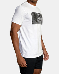 5 Gym Lay Workout Shirt White AVYZT00834 RVCA