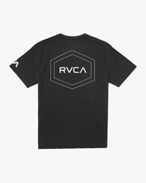 1 Big Pin Workout Shirt Black AVYZT00838 RVCA