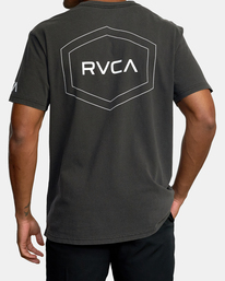 3 Big Pin Workout Shirt Black AVYZT00838 RVCA