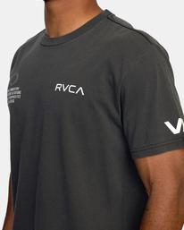 4 Big Pin Workout Shirt Black AVYZT00838 RVCA